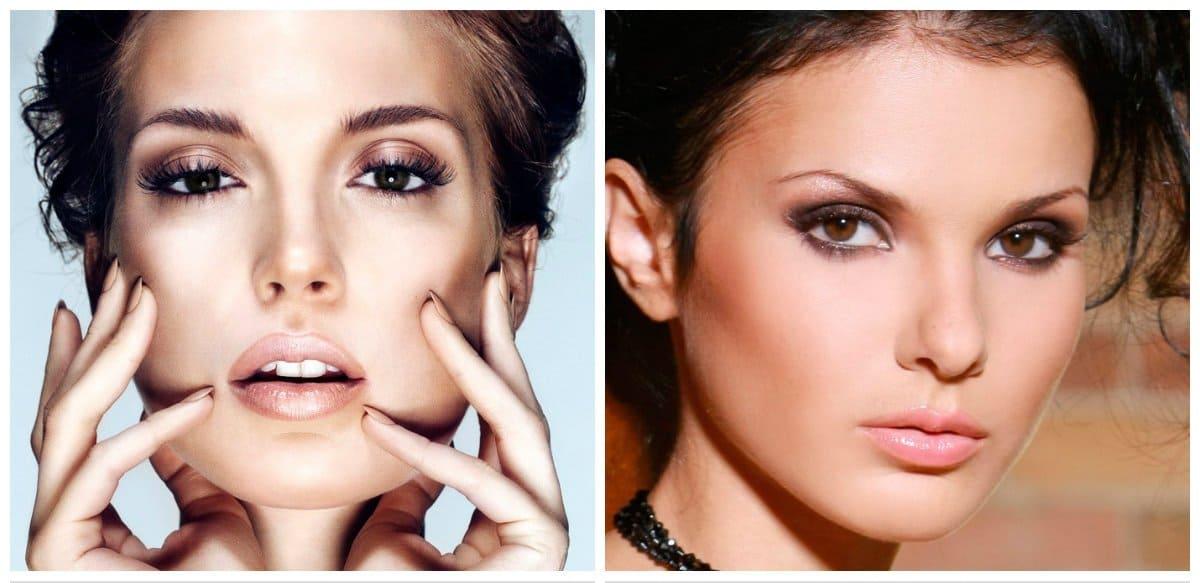 fashion makeup 2018, trendy natural makeup