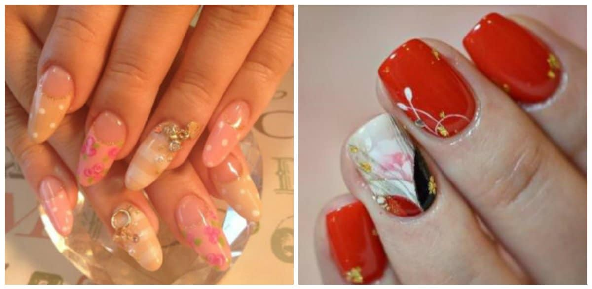 japanese nail art 2018, trendy nail designs and ideas