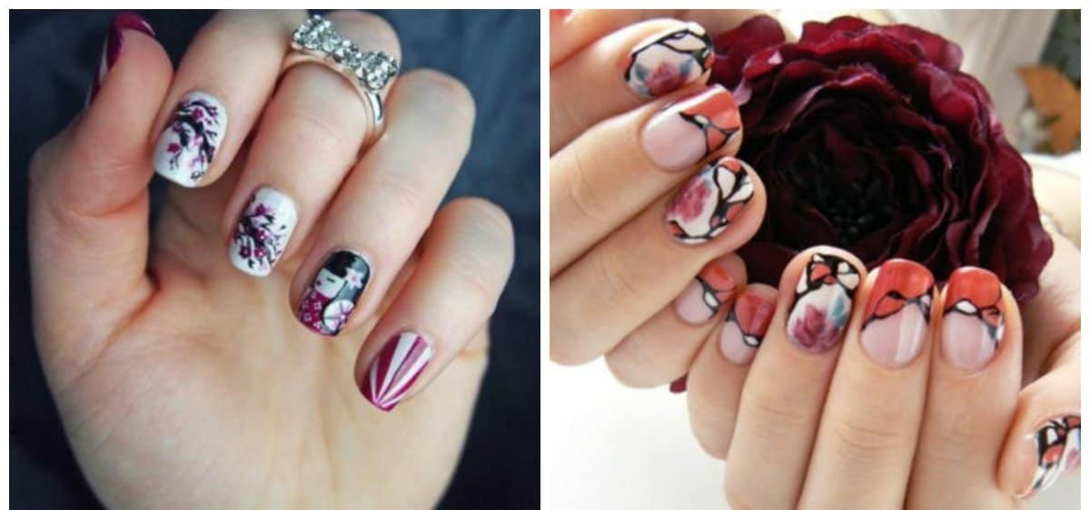 japanese nails, nails in japanese style