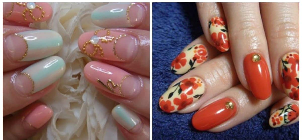 japanese nailart 2018, trends and tendencies of japanese nails 2018