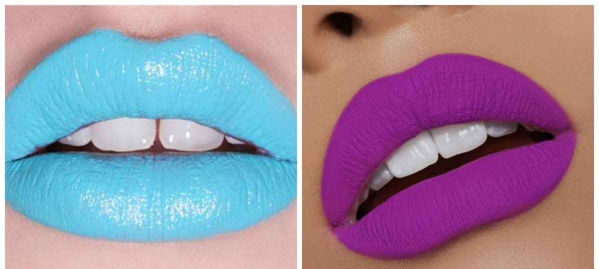 lipstick shades 2018, trendy colors of lips 2018