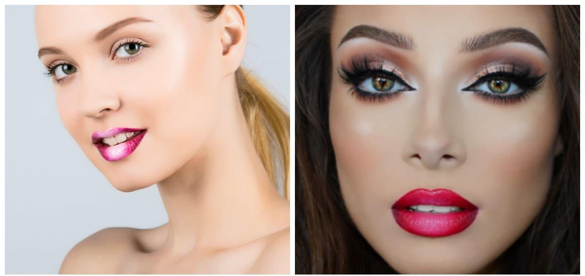 lipstick trends 2018, fashionable lips 2018