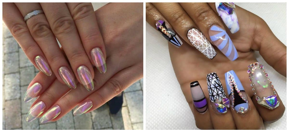 long nails 2018, acquarium long nails 2018