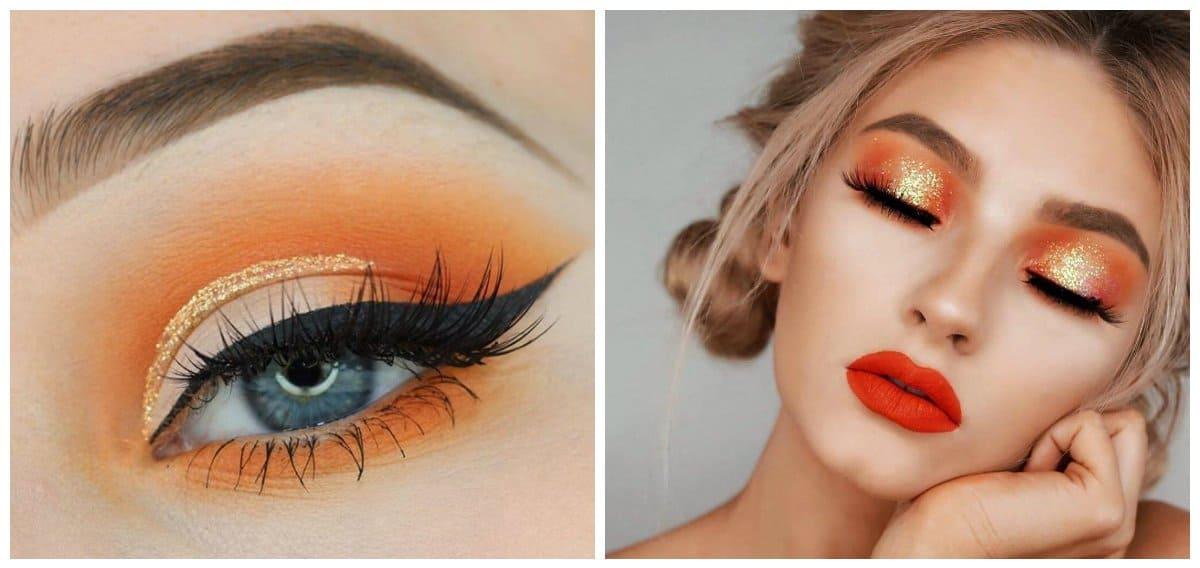 popular makeup palettes 2018, orange makeup
