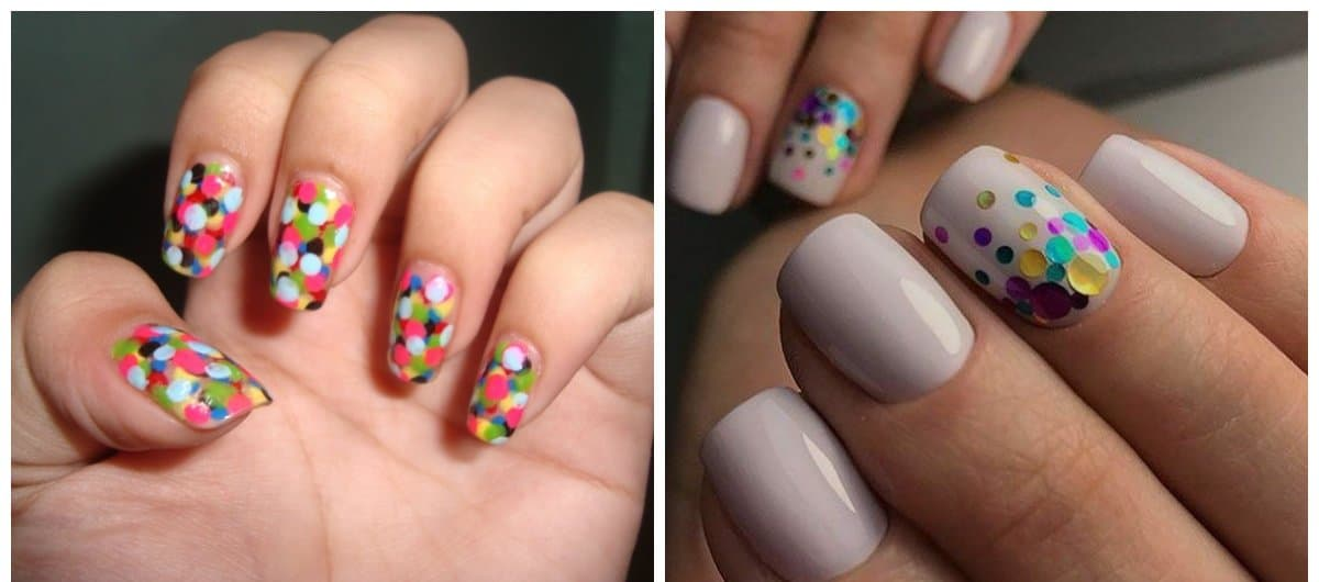 trending nail designs, stylish kamifubuki - Popular Nails 2018: Fashion Of Trending Nail Designs And Colors