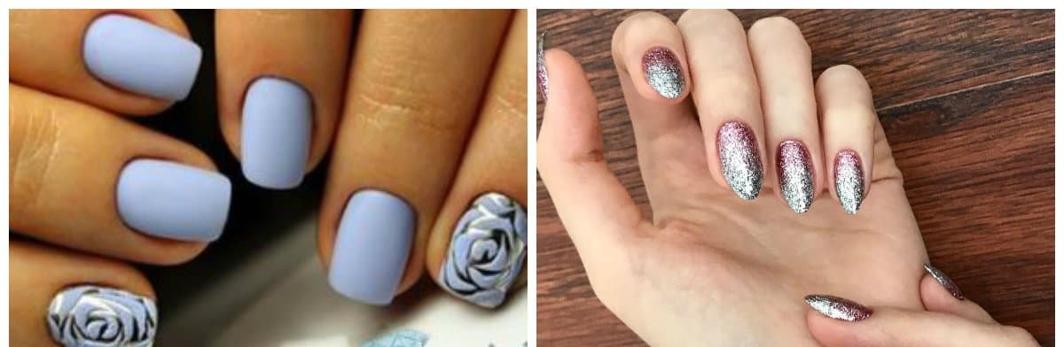 popular nails 2018, trending designs and colors 2018
