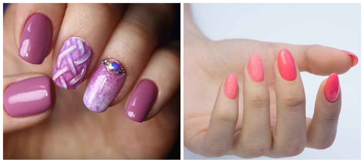 trending nail colors, nail designs with thermo polishes