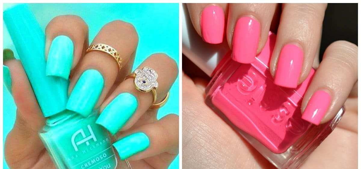 Summer nails 2018 fashionable trends of summer 2018 nail colors summer nail art stylish summer color nails prinsesfo Gallery