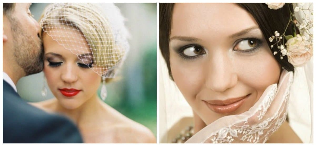 bridal makeup 2018, stylish eyelash makeup for bridal makeup