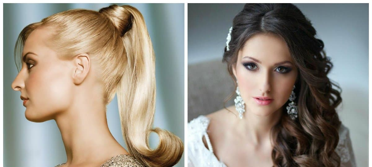 evening hairstyles 2018, stylish trends and ideas of evening hairstyles