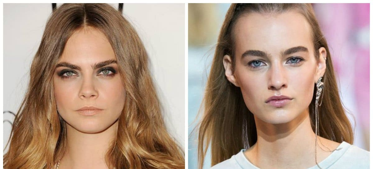 eyebrows 2018, stylish trends and ideas