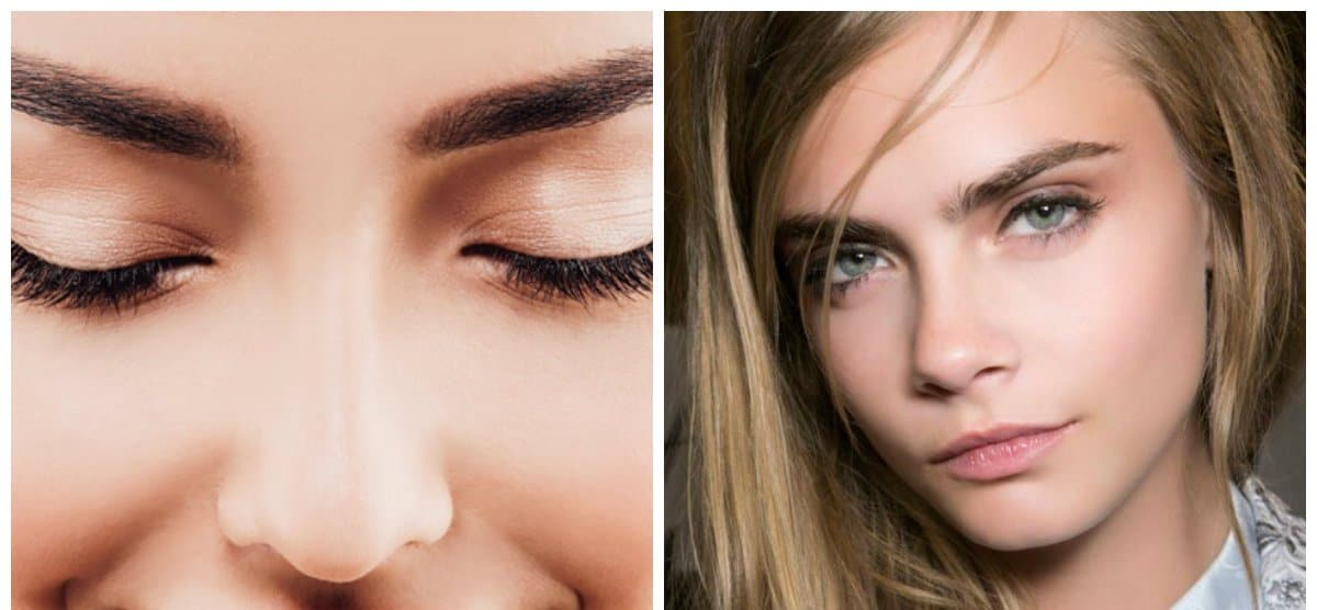 eyebrows 2018, stylish natural eyebrows