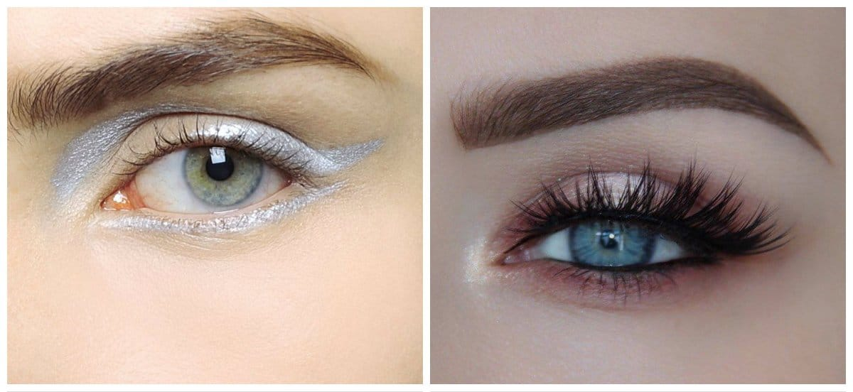 eyeliner trends 2018, eye makeup for close-fitting eyes