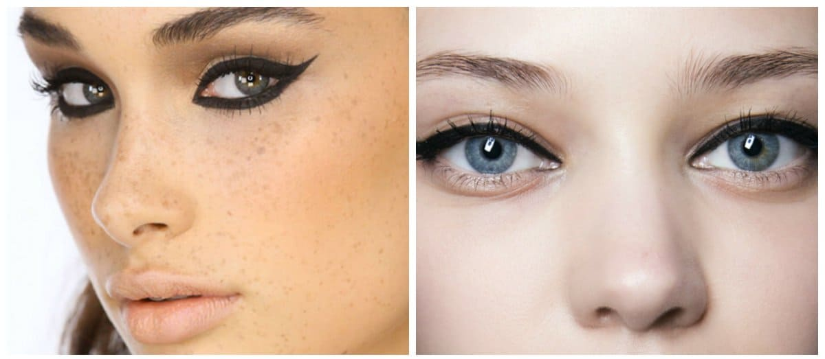 eyeliner trends 2018, stylish dry eyeliner