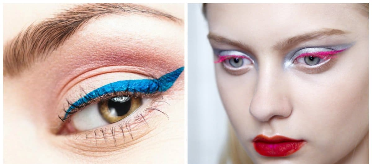 eyeliner trends 2018, fashionable fusing