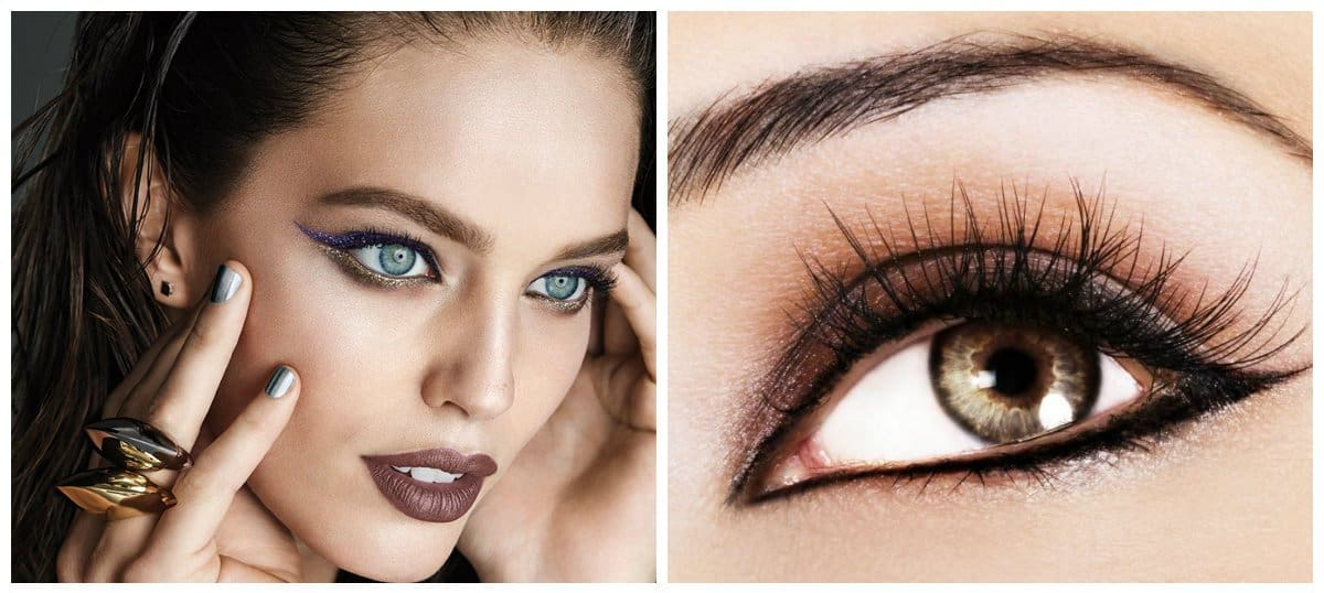 eyeliner trends 2018, stylish liquid eyeliner