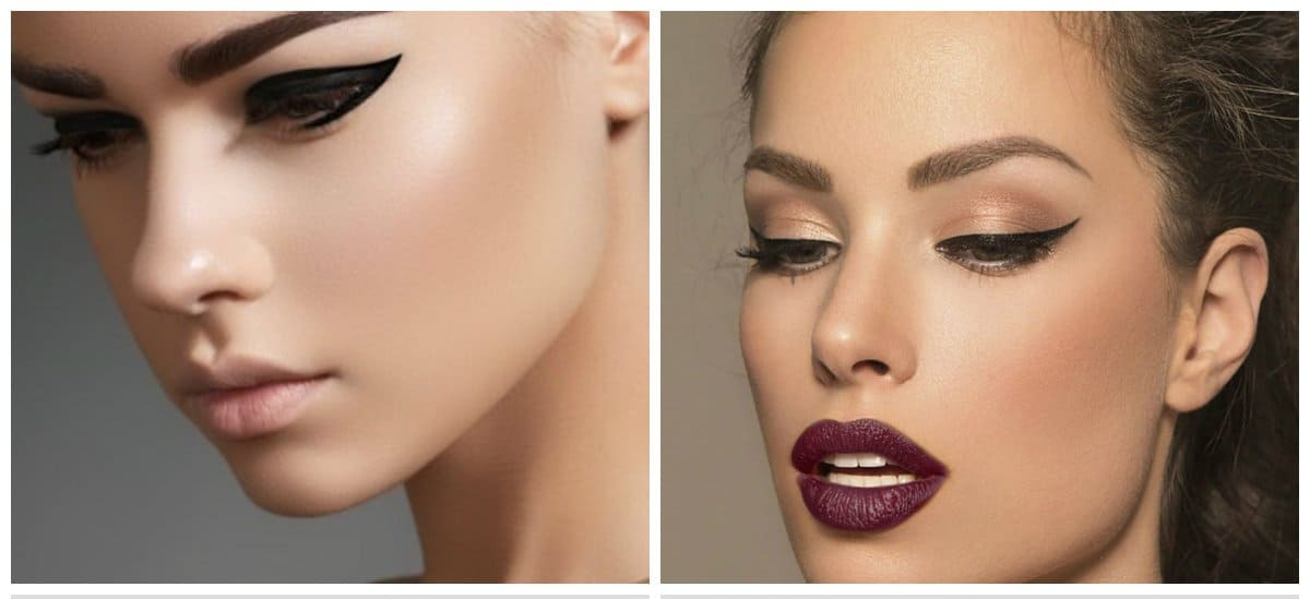 eyeliner trends 2018, eye makeup for small eyes