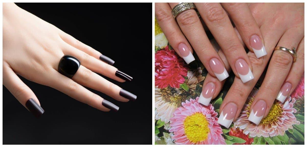 nail models 2018, trendy shapes of nails 2018