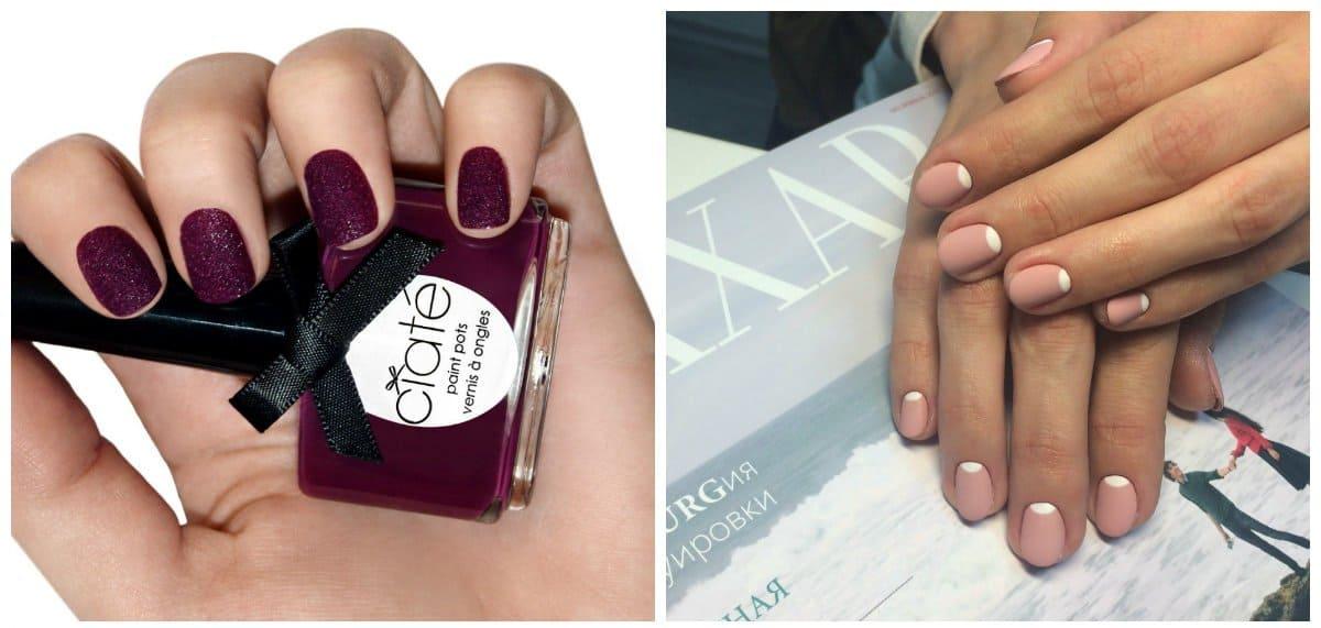 nail models 2018, rounded shape nails 2018
