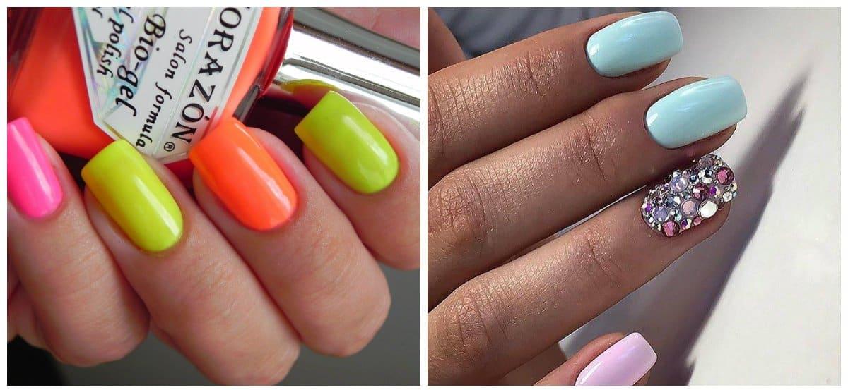 nail models 2018, square shape nail model