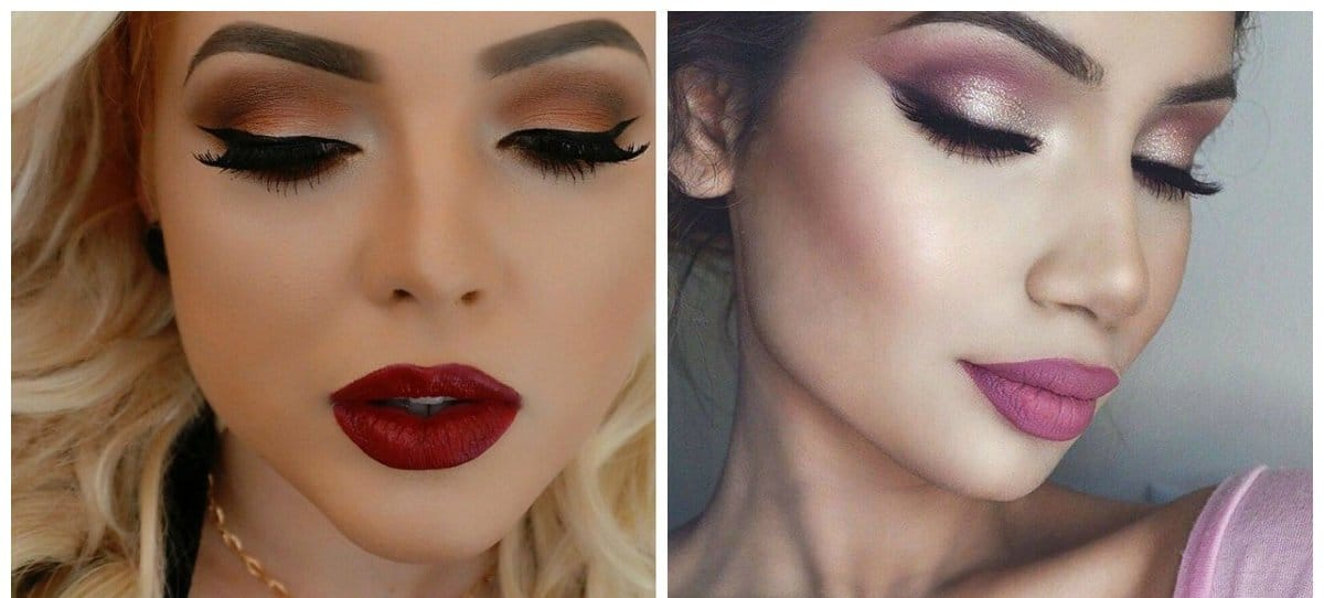 new beauty trends 2018, makeup in one scale