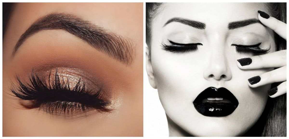 party makeup 2018, stylish party makeup with mascara