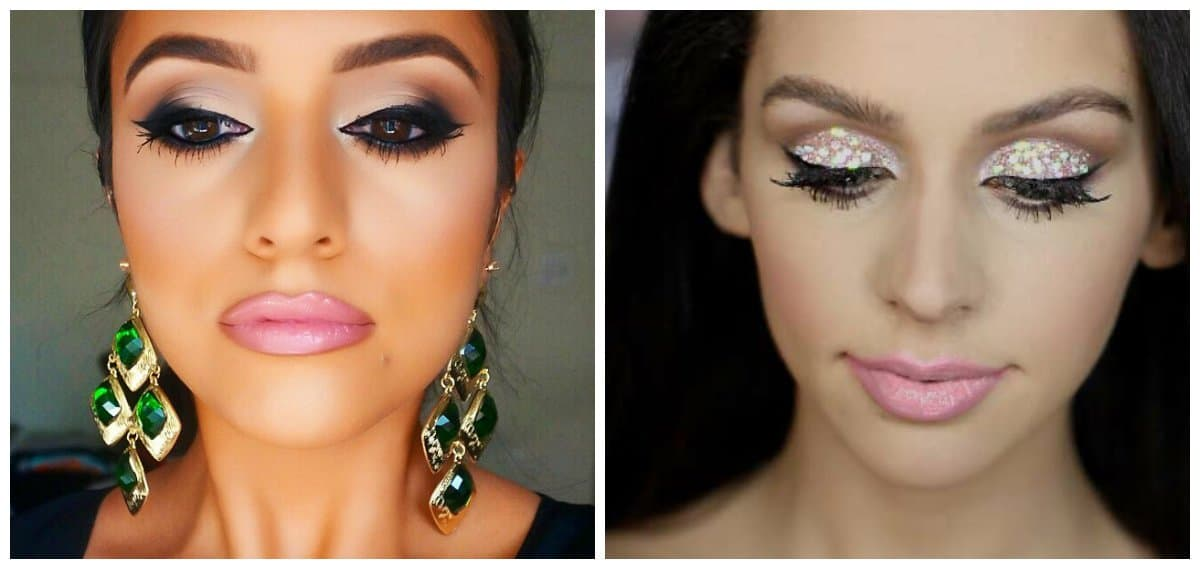 party makeup 2018, stylish ideas for party makeup