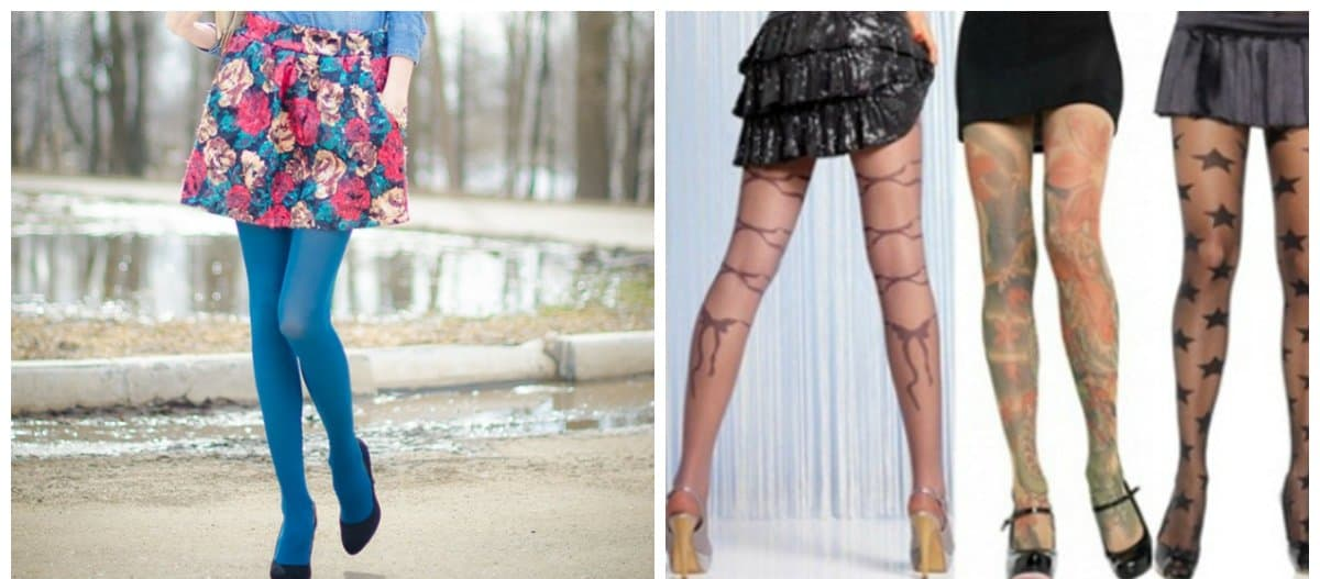 tights 2018, trends and tendencies of pantyhose