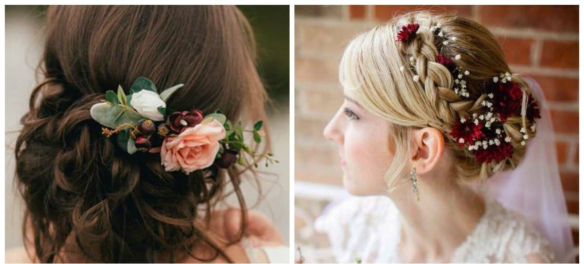 wedding hairstyles 2018, stylish artificial strands
