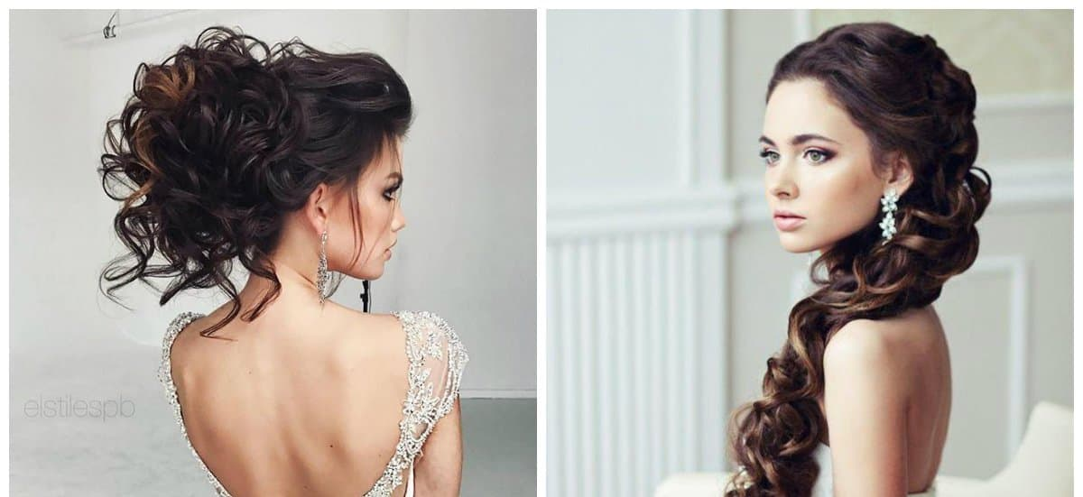 wedding hairstyles 2018, stylish weaving
