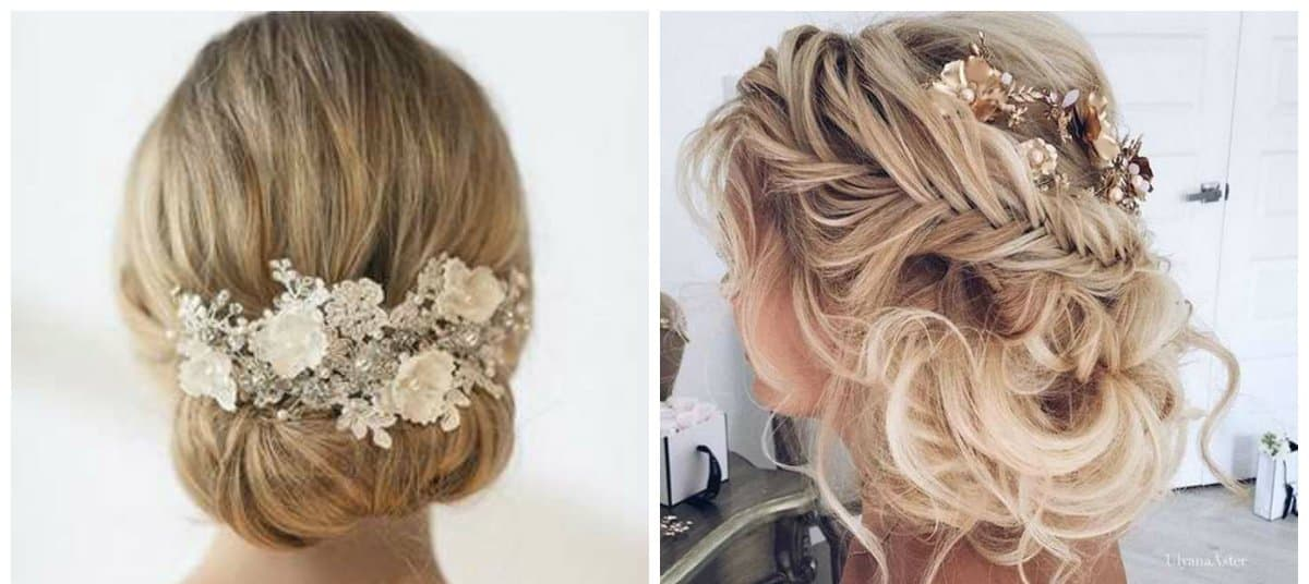 wedding hairstyles 2018, trends and ideas