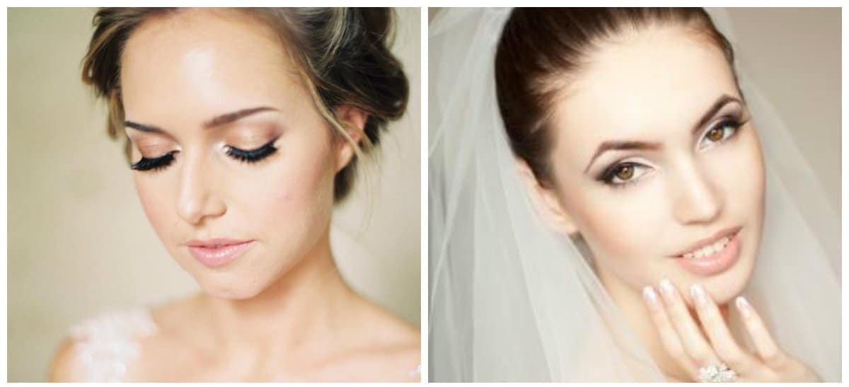 wedding makeup 2018, stylish matte skin tone