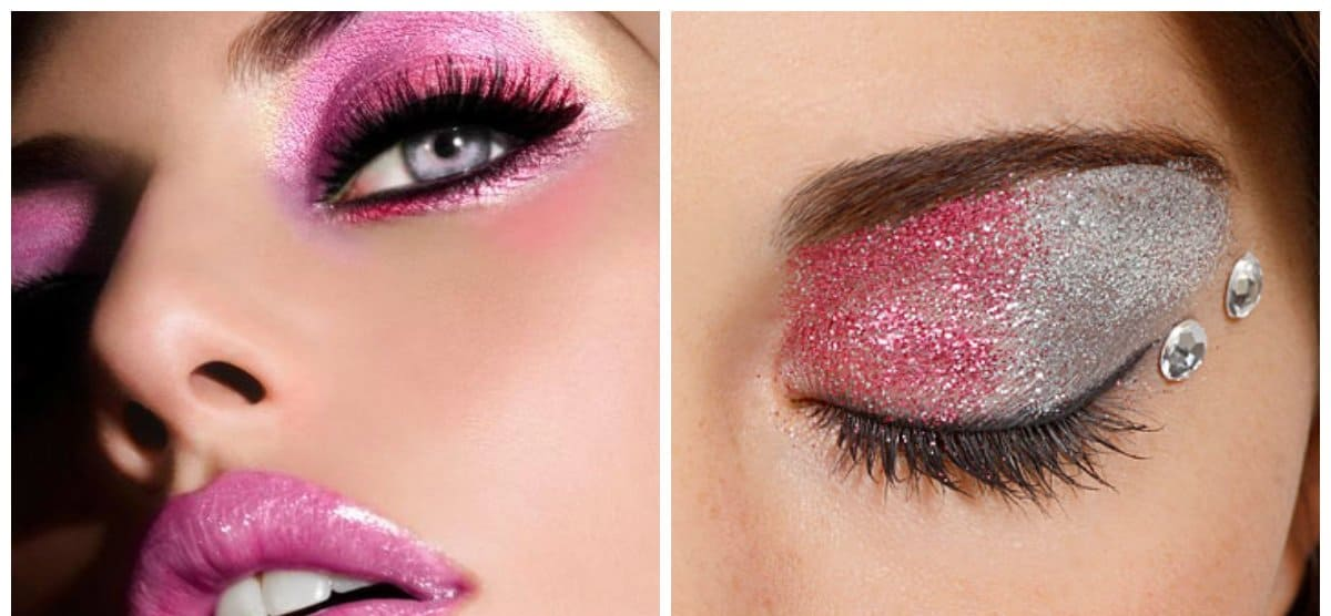 winter makeup trends 2018, stylish pink makeup ideas