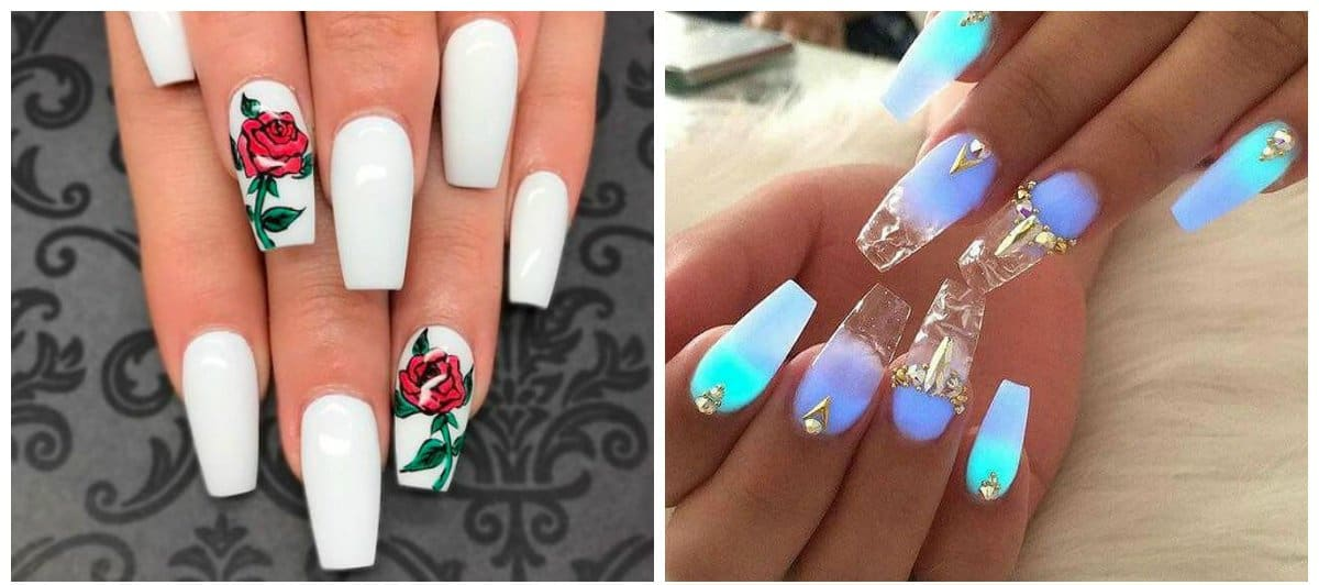 Acrylic nails 2018: stylish trends and design options for acrylic nails
