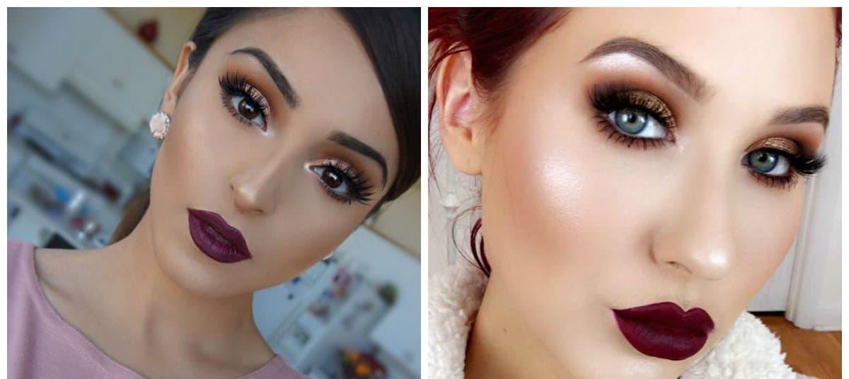 bridal makeup trends 2018, grunge style makeup