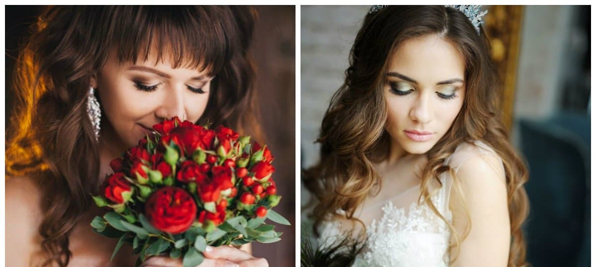 bridal makeup trends 2018, natural makeup