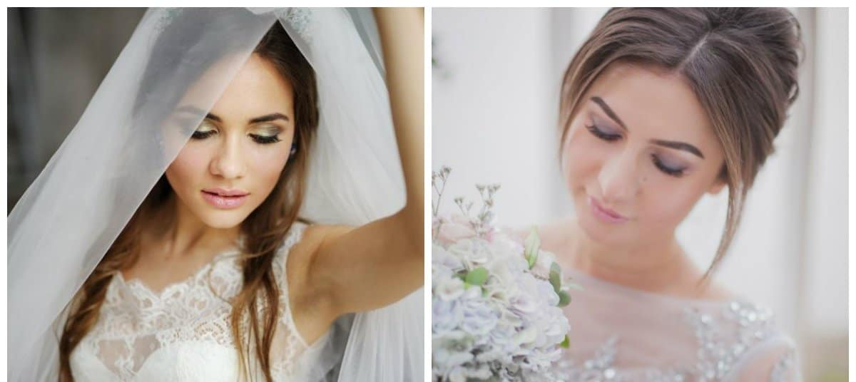 bridal makeup trends 2018, stylish smoky eyes
