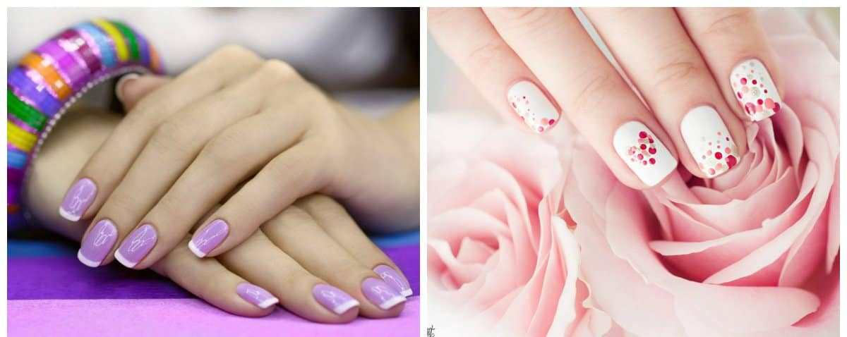 gel nail designs 2018, stylish trends and ideas of gel nails