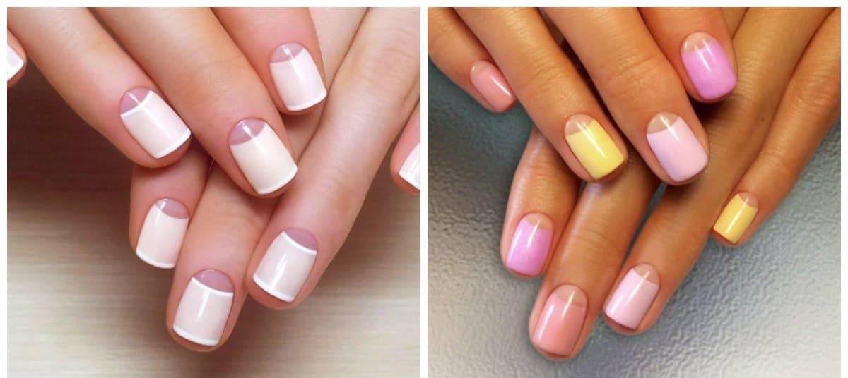 gel nail designs 2018, lunar gel nail designs