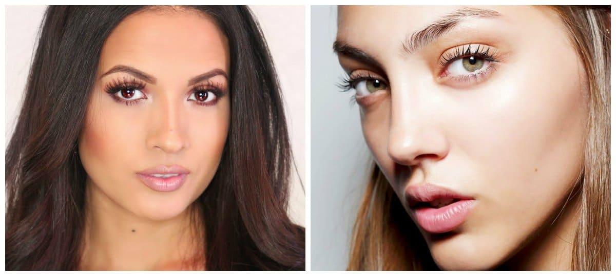 makeup styles 2018, daytime makeup 2018