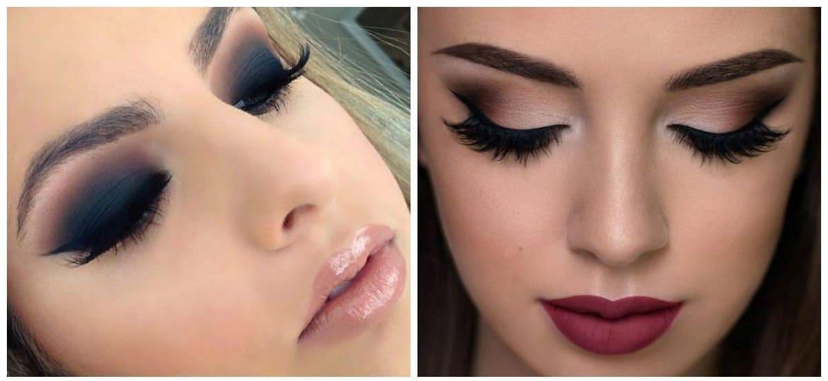 makeup styles 2018, evening makeup 2018