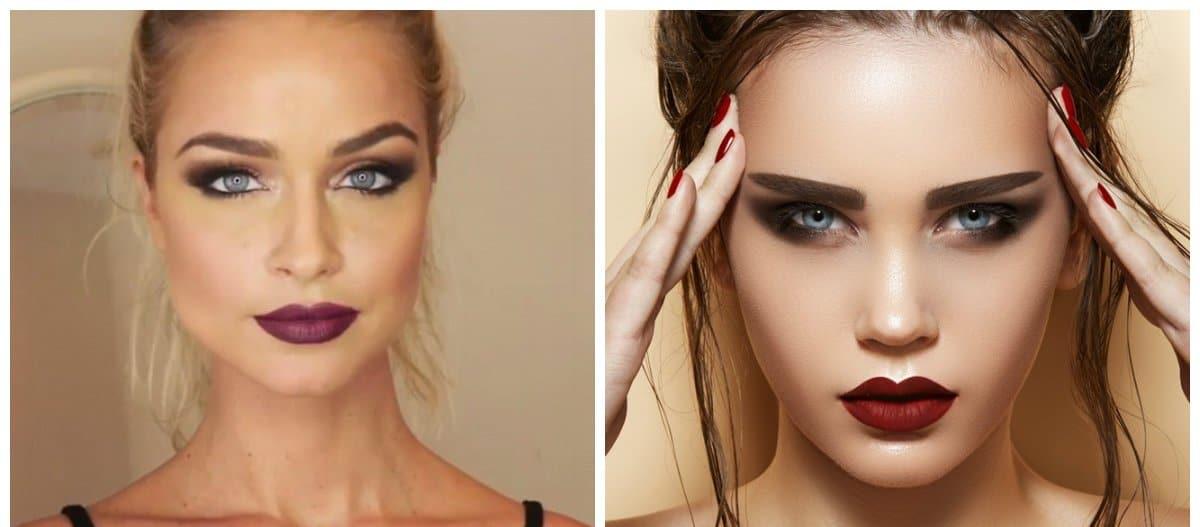 makeup styles 2018, evening makeup tips
