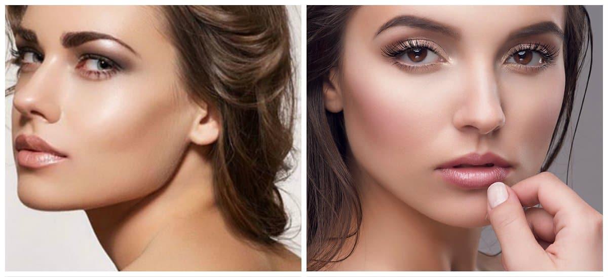 makeup styles 2018, nude makeup 2018