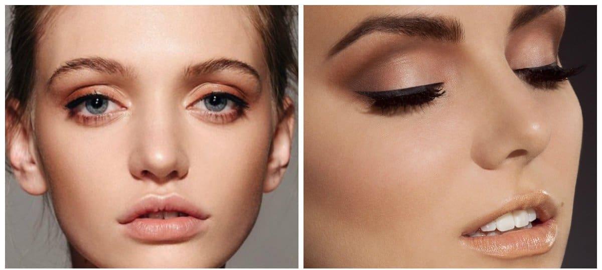 makeup styles 2018, nude makeup tips