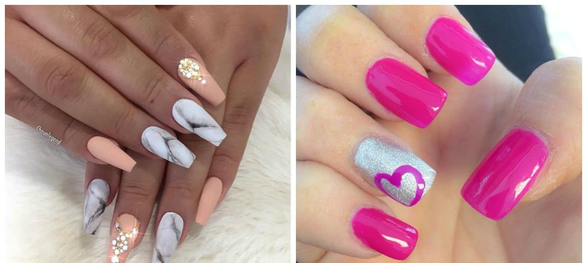 New nail colors 2018: tips and stylish shades of nails 2018