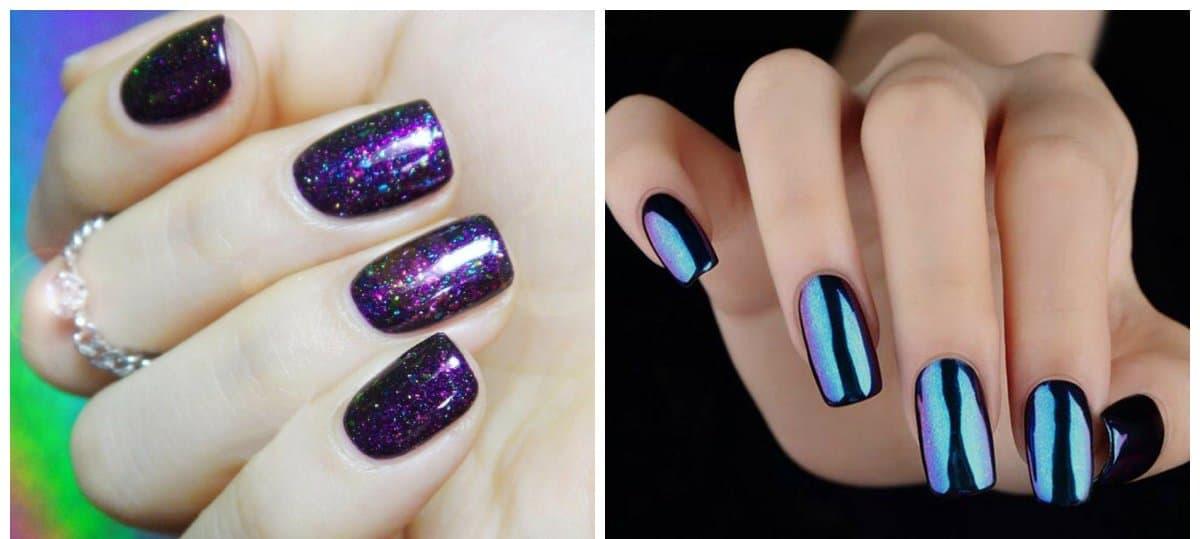 top nail colors 2018, chameleon nails