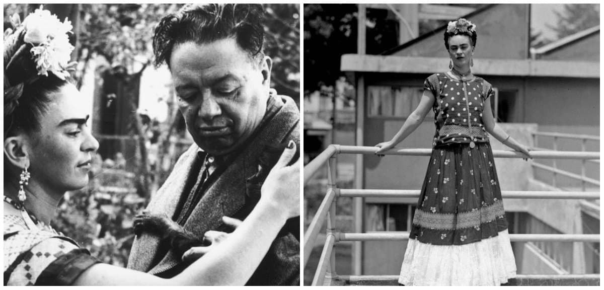 Frida Kahlo Clothing Style: Frida Kahlo and Diego Rivera