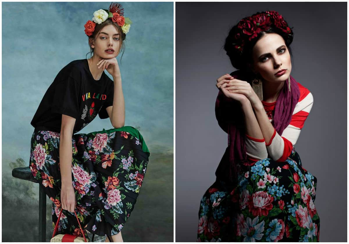 Frida Kahlo Clothing Style: Frida Kahlo Fashion Influencer: Models