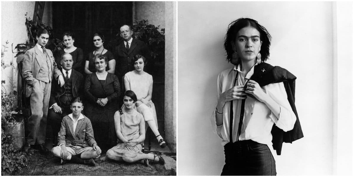 Frida Kahlo Clothing Style: Frida's Family: Frida Kahlo's Boyish Look