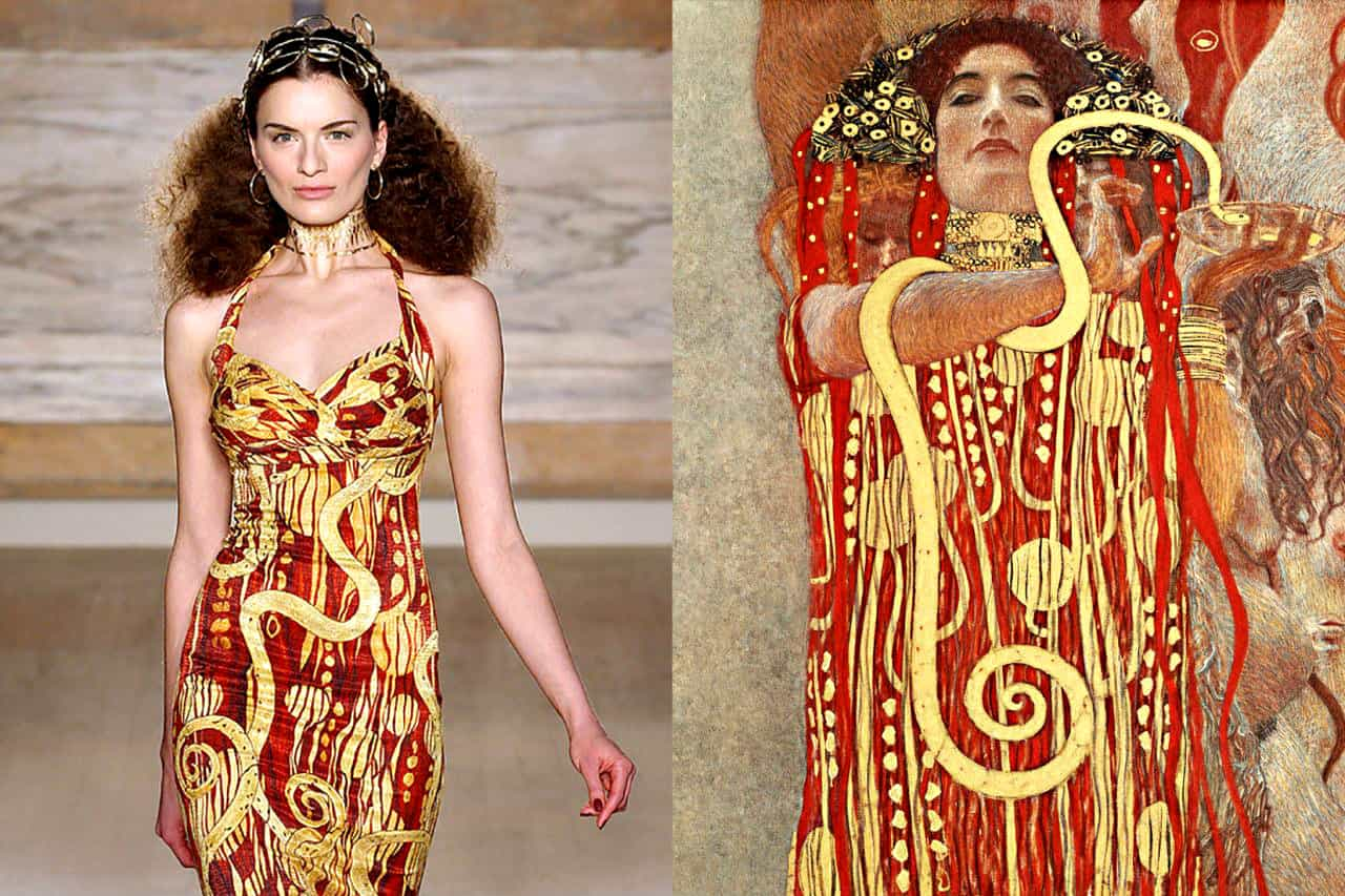 Klimt Clothing Style: Women Fashion trends: Eastern style